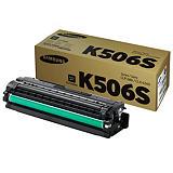 Samsung CLT-K506S, SU180A, Tóner Original, Negro, Paquete Unitario
