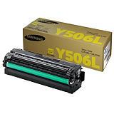 Samsung CLT-Y506L, SU515A, Tóner Original, Amarillo, Alta Capacidad, Paquete Unitario