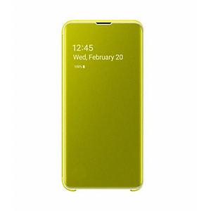 Samsung, Smartphone cellulari - accessori, S10e clear view coveryellow, EF-ZG970CYEGWW