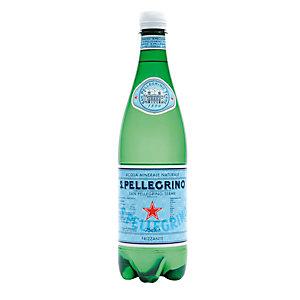 San Pellegrino Acqua minerale, Frizzante, Bottiglia di plastica, 750 ml (confezione 6 pezzi)