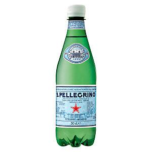San Pellegrino Eau minérale gazeuse 500ml (lot de 24 bouteilles)