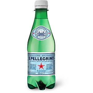 San Pellegrino Eau minérale naturelle pétillante - bouteille PET 33 cl