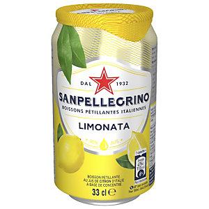 San Pellegrino Limonata - Canette de 33 cl (lot de 6 bouteilles)