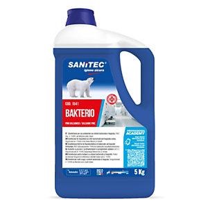 SANITEC BAKTERIO Disinfettante, Pino balsamico, Flacone 5 kg