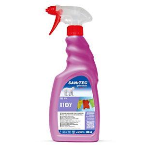 SANITEC Detergente pretrattante schiumogeno X1 OXY, Con perossido d'idrogeno e tensioattivi, Spray da 500 ml