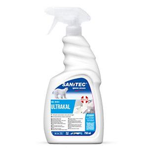 SANITEC Disincrostante Ultra Super anticalcare Acido Profumato, Flacone spray 750 ml