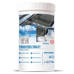 SANITEC Friggitrici Tablet Pastiglie per la pulizia delle friggitrici, 25 pastiglie
