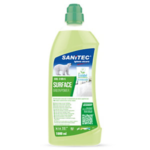 SANITEC Green Power Detergente pavimenti, Flacone 1000 ml