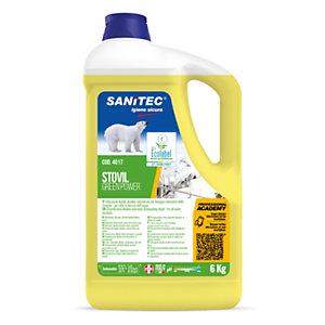SANITEC Green Power Lavastoviglie Detergente lavastoviglie professionali, Flacone 6 kg