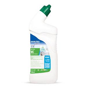 SANITEC Green Power WC GEL Disincrostante gel per WC, Tappo di sicurezza, Flacone 750 ml