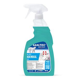 SANITEC IGIENIKAL BAGNO Detergente disincrostante scioglicalcare, Classico, Flacone spray 750 ml