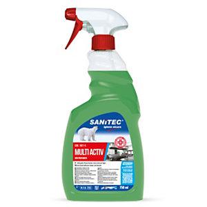 SANITEC MULTI ACTIV Disinfettante per superfici, Flacone spray 750 ml
