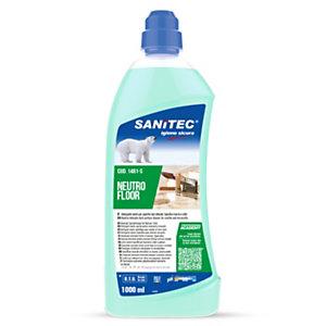 SANITEC Neutro Floor Detergente neutro per pavimenti delicati, Flacone da 1000 ml