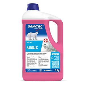 SANITEC Sanialc Detergente alcolico universale, Tanica 5 kg