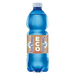 Sant Anna di Vinadio Acqua minerale frizzante ECO, Bottiglia in RPET, 500 ml