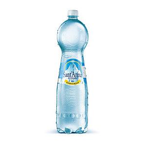 Sant Anna di Vinadio Acqua minerale lievemente frizzante, Bottiglia di plastica, 1,5 litri (confezione 6 bottiglie)