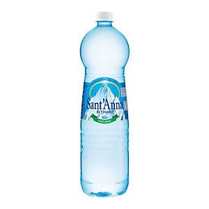 Sant Anna di Vinadio Acqua minerale naturale, Bottiglia di plastica, 1,5 litri (confezione 6 bottiglie)