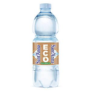 Sant Anna di Vinadio Acqua minerale naturale ECO, Bottiglia in RPET, 500 ml