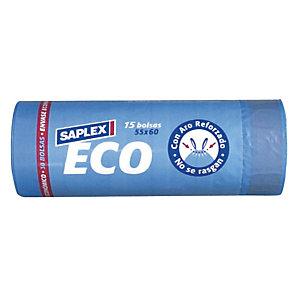 SAPLEX Bolsa de basura Eco 30 L.