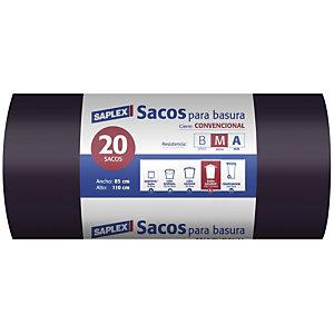 SAPLEX Bolsas de basura 110 L.