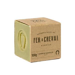 Sapone di Marsiglia Fer a Cheval all'olio di oliva, Cubo 100 g