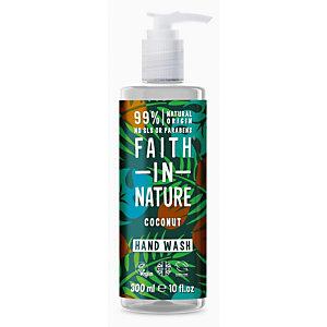 Sapone liquido Cocco Faith in Nature, Flacone con dosatore 300 ml