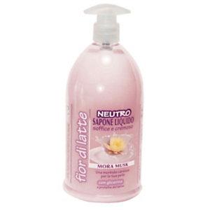 Sapone liquido mani Neutro, Profumazione Mora, Flacone con dosatore 1.000 ml