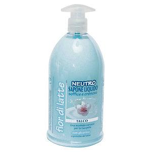 Sapone liquido mani Neutro, Profumazione Talco, Flacone con dosatore 1.000 ml