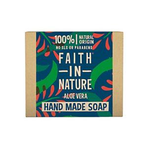 Saponetta Aloe Vera, Faith in Nature, 100 g (confezione 6 pezzi)