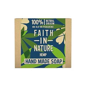 Saponetta Canapa, Faith in Nature, 100 g (confezione 6 pezzi)