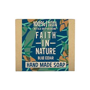 Saponetta Cedro, Faith in Nature, 100 g (confezione 6 pezzi)