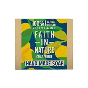 Saponetta Pompelmo, Faith in Nature, 100 g (confezione 6 pezzi)