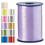 Satin effect curling gift ribbon