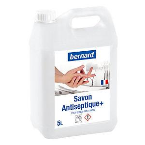 Savon antiseptique Bernard +, bidon de 5 L