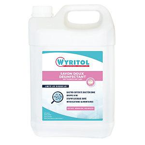 Savon liquide désinfectant Wyritol, bidon de 5 L