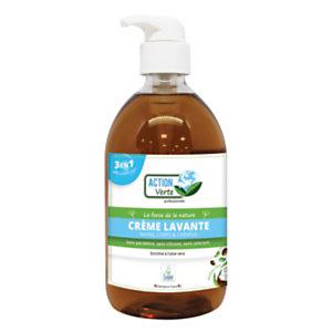 Savon liquide pour les mains, corps et cheveux, parfum Coco - Flacon 500ml
