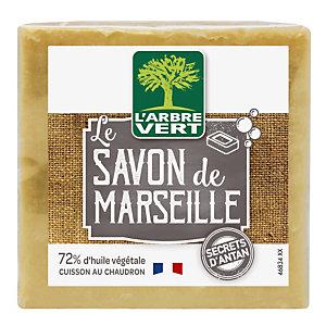 Le Savon de Marseille L'Arbre Vert, bloc de 300 g