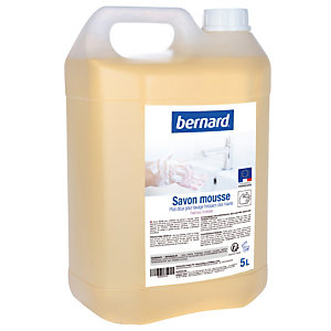 Savon mousse Bernard parfum Orchidée, bidon de 5 L