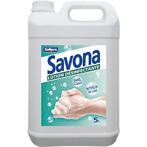 Savona Lotion désinfectante pour les mains - Bidon 5L