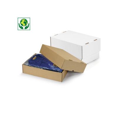 Scatole cartone con coperchio rinforzate formato A5, A6 e A7