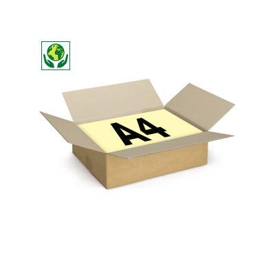 Scatole cartone un'onda RAJA formato A4