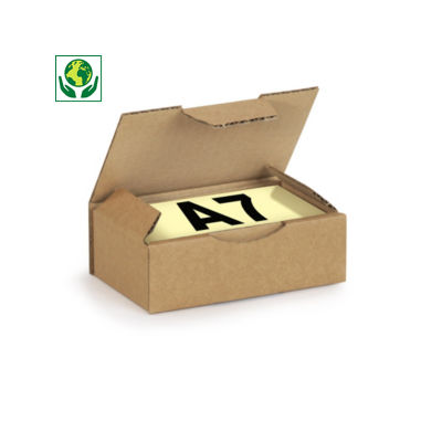 Scatole postali con coperchio formato A5, A6 e A7 RAJA