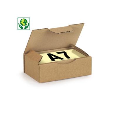 Scatole postali con coperchio formato A5, A6 e A7 RAJAPOST