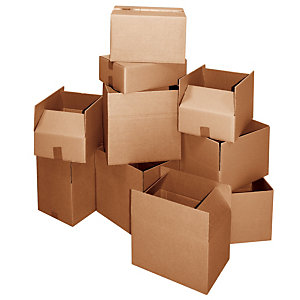 Scatole tipo americano, Onda doppia, Dimensioni cm 29 x 19 x 18,2 h (confezione 10 pezzi)