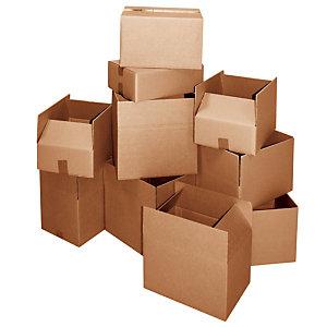Scatole tipo americano, Onda doppia, Dimensioni cm 38 x 26 x 15,2 h (confezione 10 pezzi)