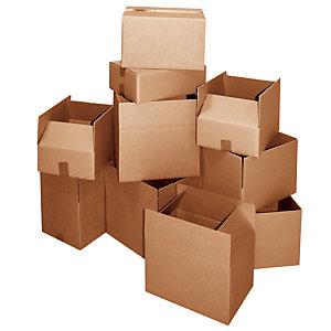Scatole tipo americano, Onda singola, Dimensioni cm 29 x 19 x 18,2 h (confezione 15 pezzi)