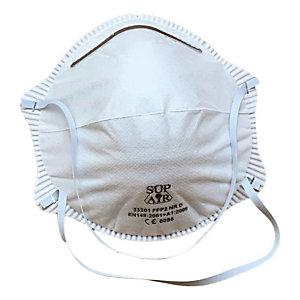 Schelpmasker zonder ventiel FFP2, doos van 20 maskers