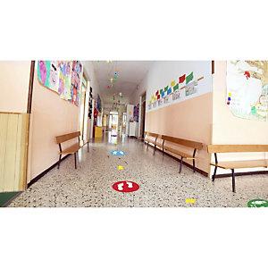 School Social Distance Floor Markers