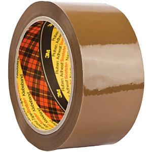 Scotch® 309 Nastro da imballo Ultra Forte, Srotolamento silenzioso, 50 mm x 66 m, Polipropilene, Avana (confezione 6 rotoli)