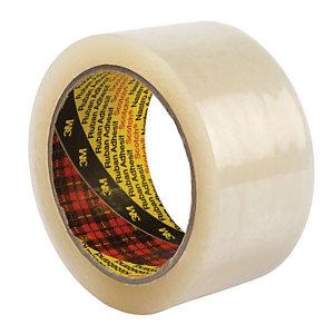 Scotch® 309 Nastro da imballo Ultra Forte, Srotolamento silenzioso, 50 mm x 66 m, Polipropilene, Trasparente (confezione 6 rotoli)